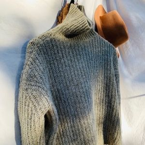 ZARA Knit Turtleneck Sweater